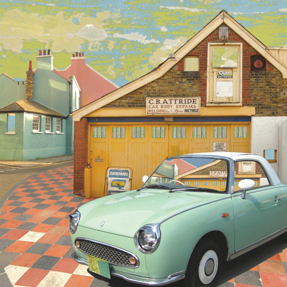 Claire Gill, Artist, Wallscape 1 Fine Art greeting card, fine art greeting card, buy art, Broadstairs, CB Attride