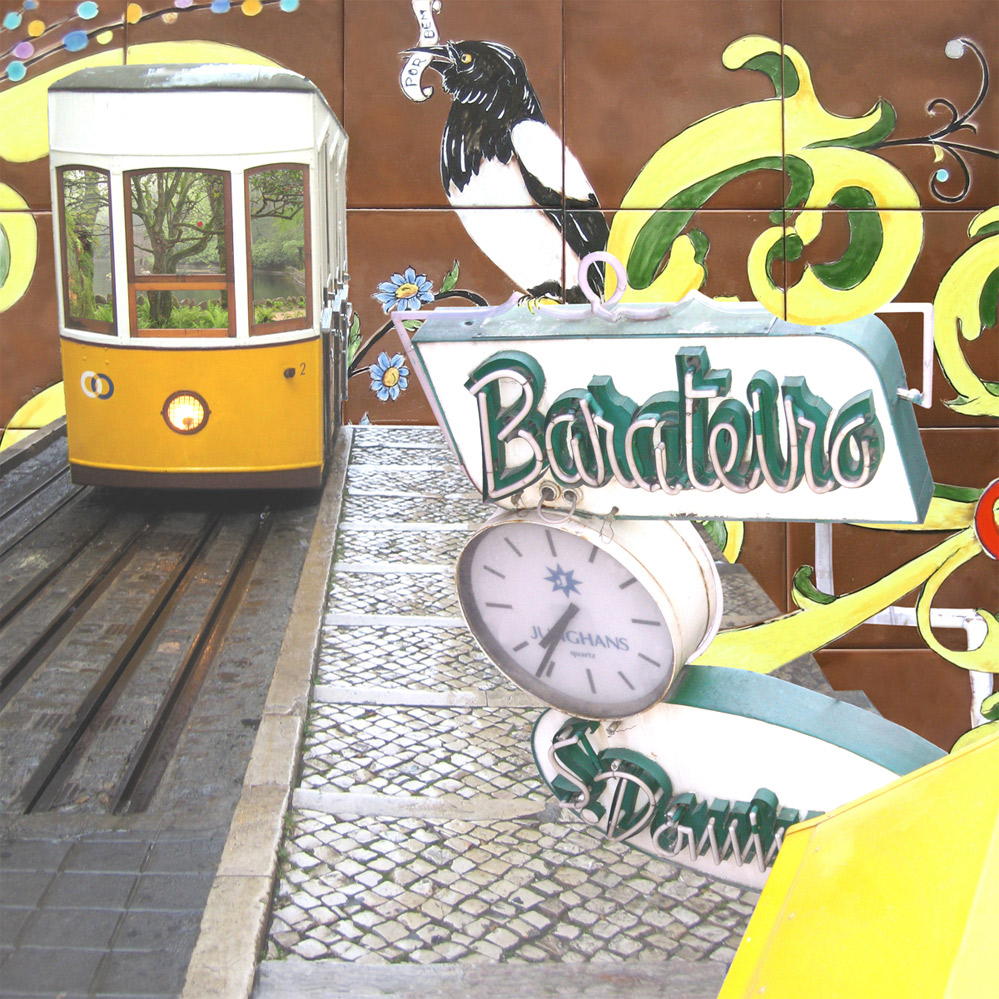 Claire Gill, Artist, Wallscape 6 Fine Art greeting card, fine art greeting card, buy art, Lisbon, Portugal