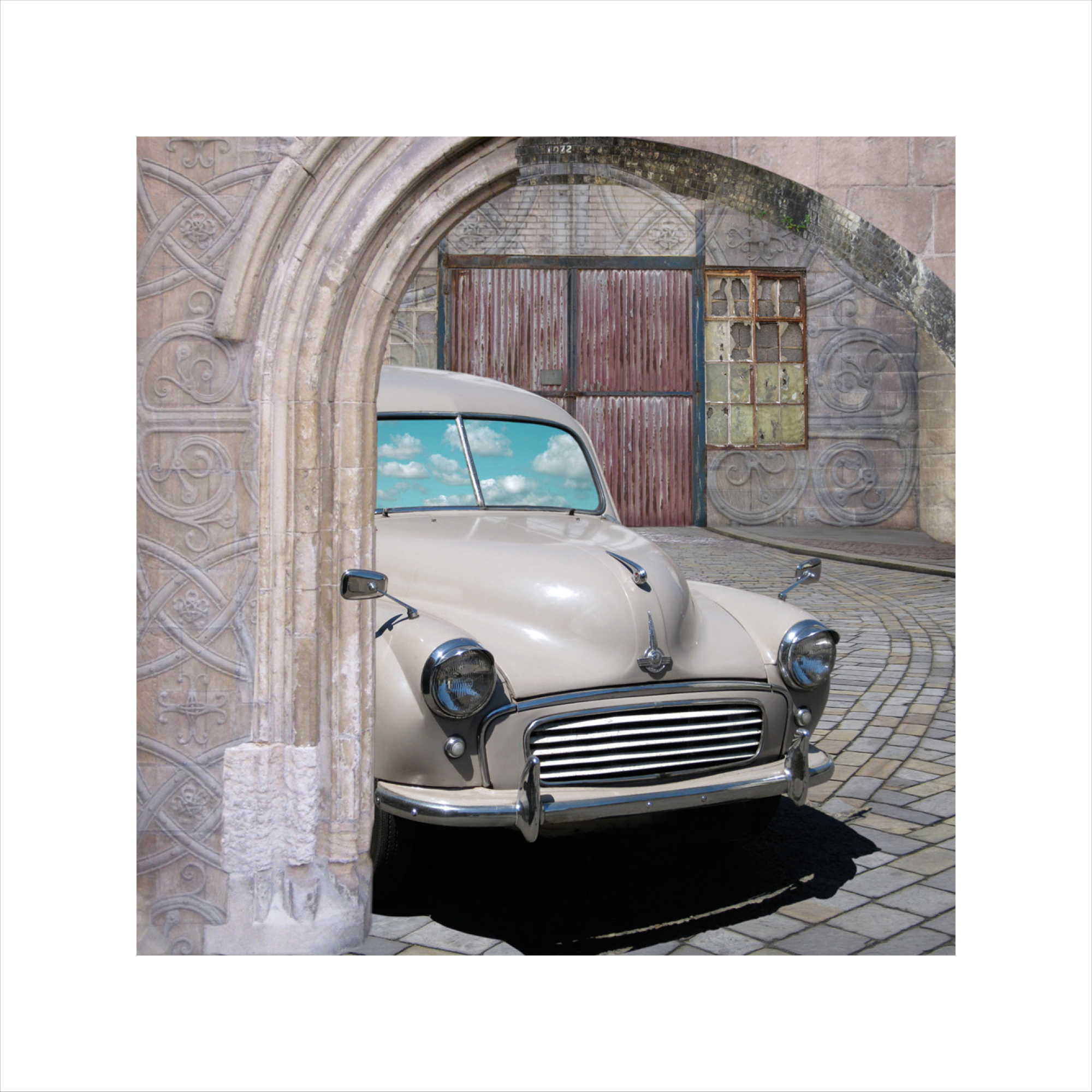 Claire Gill, Artist Claire Gill, Wallscape 12 Limited Edition Print, Limited edition print, wallscapes, buy art, collect art, digital photomontagee