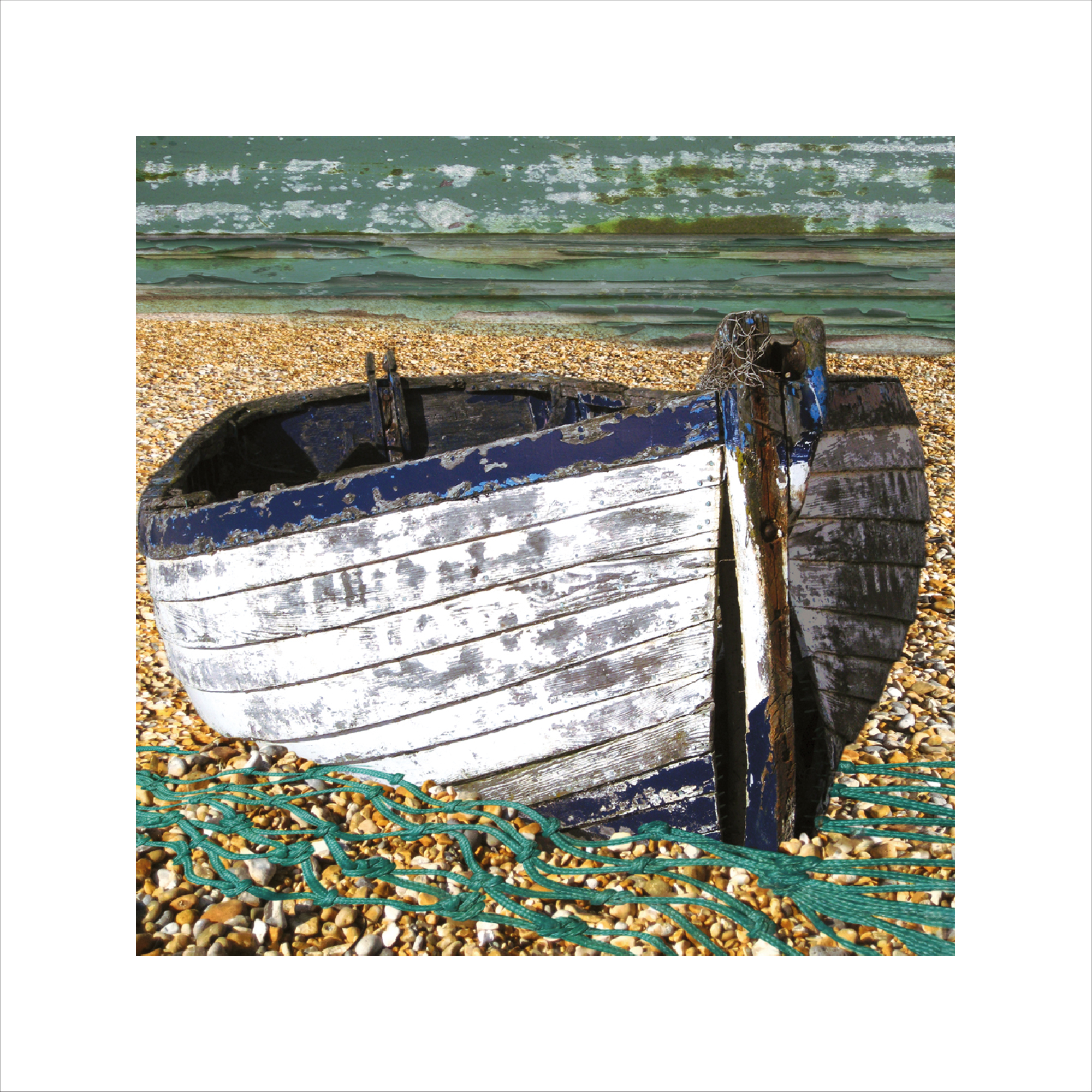 Claire Gill, Limited edition prints, digital photomontage, fine art prints, hahnemuhle, coastal art, Collect Art, seascape 10, Aldeburgh