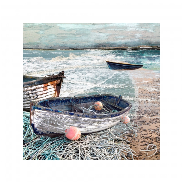 Claire Gill, Limited edition prints, digital photomontage, fine art prints, hahnemuhle, coastal art, Collect Art, seascape 35, Aldeburgh, Chesil Beach