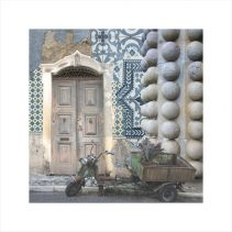 Claire Gill, Artist Claire Gill, Wallscape 2 Limited Edition Print, Limited edition print, wallscapes, buy art, collect art, digital photomontage, Lisbon, Sintra, Portugal